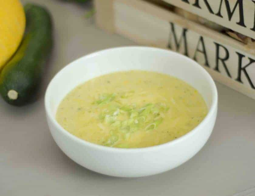 Courgette and Cheese Soup – Zucchini Soup Recipes
