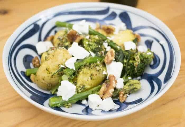 Feta and Broccoli Potato Salad