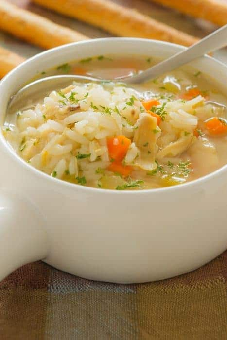 cold curing chicken soup
