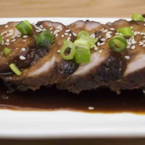 Roasted Pork Fillet - Chinese Recipes