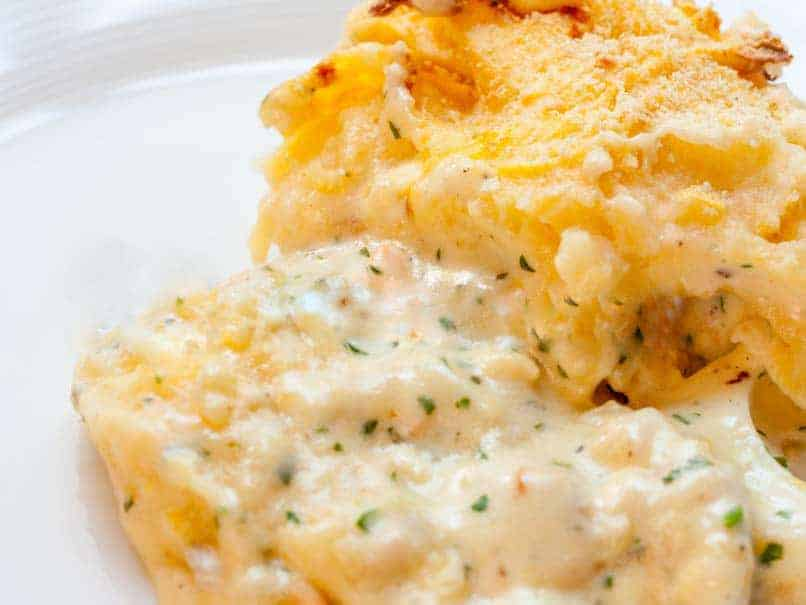 Fish Pie with Mashed Potato