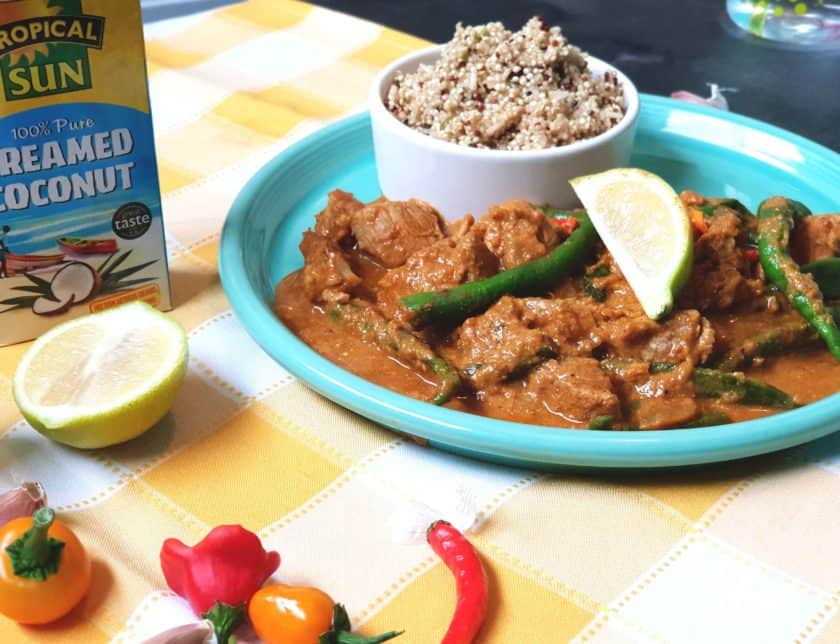 Jamaican Pork Coconut Curry