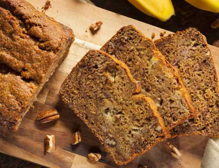 sugar free banana bread