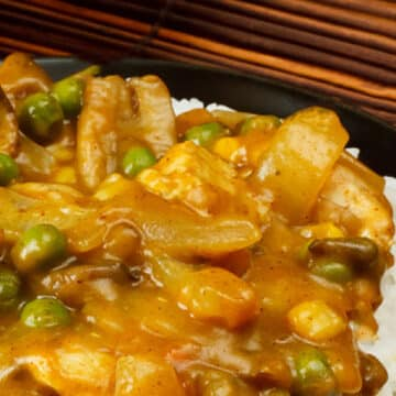 Chinese Takeaway Chicken Curry