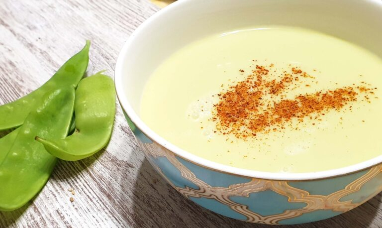 how to cook summer pea soup