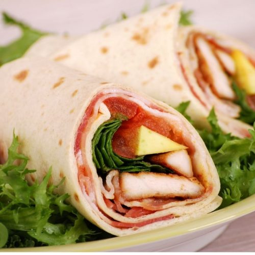 Chicken and Bacon Wraps